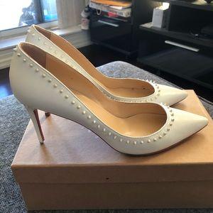 Authentic Christian Louboutin Anjalina Heels 85mm